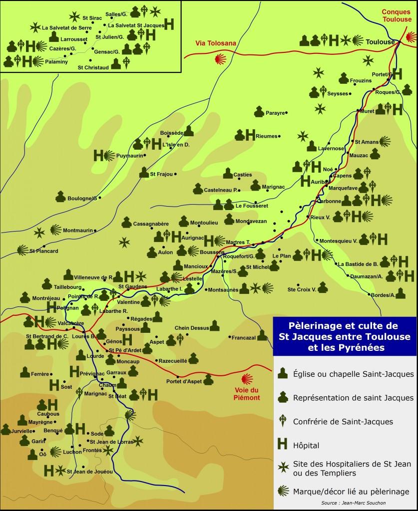 Nouvelle carte voie Garonne(synthèse) grand format