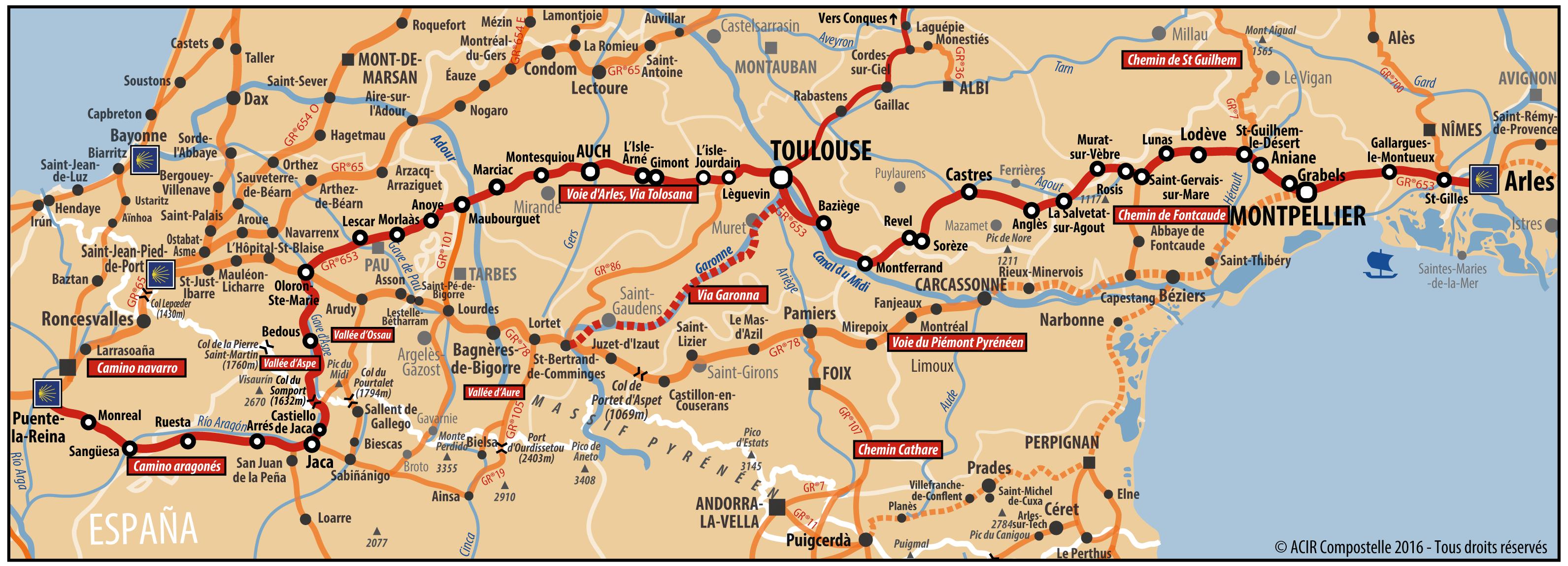 carte voie Arles-01
