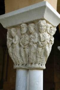 saint gaudens collégiale chapiteaux cloitre re